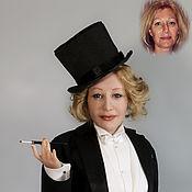 Куклы и игрушки ручной работы. Ярмарка Мастеров - ручная работа портретная кукла в образе Марлен Дитрих. Handmade.