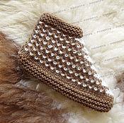 Обувь ручной работы handmade. Livemaster - original item A deal knit №2 (with the addition of goat down). Handmade.