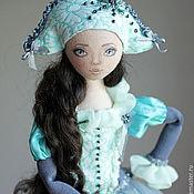 Куклы и игрушки ручной работы. Ярмарка Мастеров - ручная работа Коломбина - подвижная коллекционная кукла. Handmade.