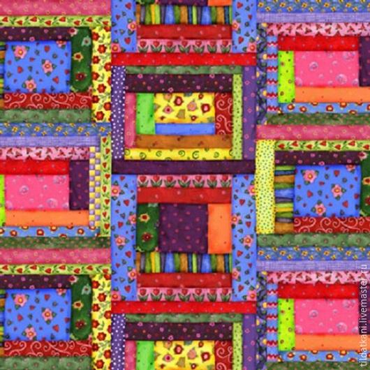 Шитье ручной работы. Ярмарка Мастеров - ручная работа. Купить Ткань для пэчворка США General Fabrics. Handmade. Пэчворк