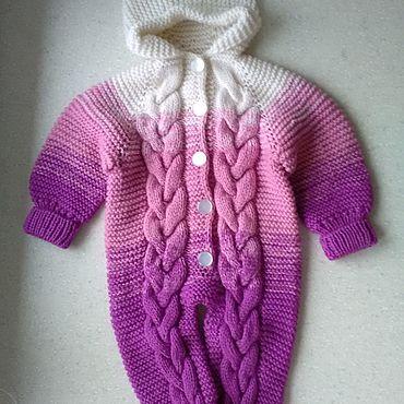 Одежда ручной работы. Ярмарка Мастеров - ручная работа Комбинезон детский. Handmade.