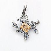 Украшения handmade. Livemaster - original item Wild pendant from the twigs. Handmade.