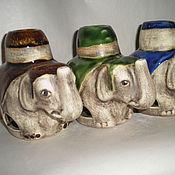 Для дома и интерьера ручной работы. Ярмарка Мастеров - ручная работа аромалампа-слон. Handmade.