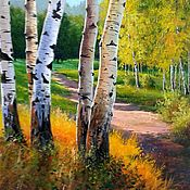 Картины и панно handmade. Livemaster - original item Oil painting landscape Arci Dene author`s work. Handmade.