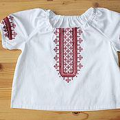 Работы для детей, handmade. Livemaster - original item Children`s blouse