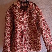 Одежда ручной работы. Ярмарка Мастеров - ручная работа стеганая курточка. Handmade.