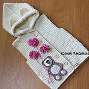 Работы для детей, ручной работы. Ярмарка Мастеров - ручная работа жилет для девочки Любимый Мишка. Handmade.