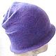 """Шляпы ручной работы. Заказать Шляпка """"Татьянин день"""". Евгения Комарова ( Amber ). Ярмарка Мастеров. Шапки женские"""