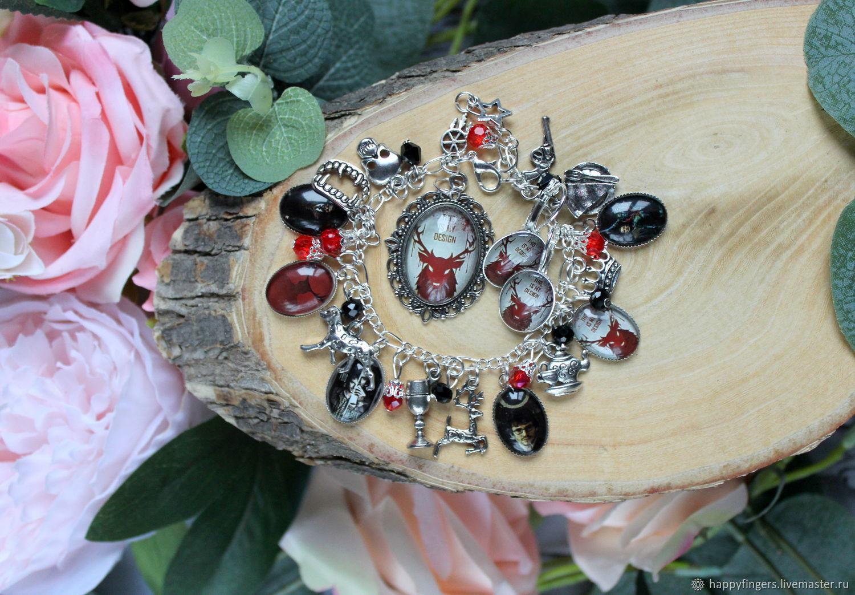 Jewelry set 'Hannibal' Hannibal Mads Mikkelsen, Jewelry Sets, Elektrostal,  Фото №1