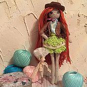 Куклы и игрушки ручной работы. Ярмарка Мастеров - ручная работа куколка модница. Handmade.