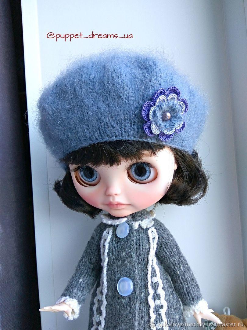 Берет для Блайз, Одежда для кукол, Барнаул, Фото №1