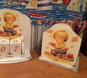 """Для дома и интерьера ручной работы. Ярмарка Мастеров - ручная работа Карандашница """"Любитель книг"""". Handmade."""