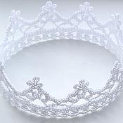 Работы для детей, ручной работы. Ярмарка Мастеров - ручная работа Хрустальная корона для Принцессы. Handmade.