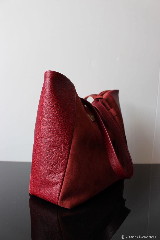 9a0a1e3ff0cf Бордовая кожаная/замшевая сумка с кисточками – купить в интернет ...