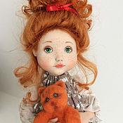 Куклы и игрушки ручной работы. Ярмарка Мастеров - ручная работа Нюша и Няша. Авторская кукла. Handmade.