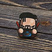 Украшения handmade. Livemaster - original item Wooden icon Dr. strange. Handmade.