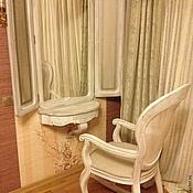 Для дома и интерьера handmade. Livemaster - original item 91.  Mirror solid walnut and rattan. Handmade.