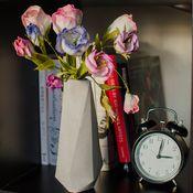 Для дома и интерьера ручной работы. Ярмарка Мастеров - ручная работа Ваза многогранник для сухих цветов. Handmade.