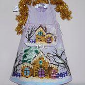 """Работы для детей, ручной работы. Ярмарка Мастеров - ручная работа Платье + сумка для девочки """"Домик лесной феи"""". Handmade."""