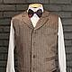 Рубашка в ансамбле с галстуком-бабочкой и жилетом