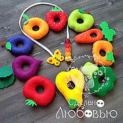 Куклы и игрушки handmade. Livemaster - original item Educational toy-lacing