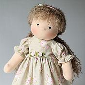Куклы и игрушки ручной работы. Ярмарка Мастеров - ручная работа Игровая текстильная куколка. Handmade.
