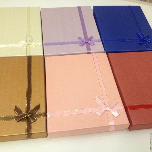 Упаковка ручной работы. Ярмарка Мастеров - ручная работа. Купить Коробка 19х15х3 подарочная, дно + крышка. Handmade. Комбинированный