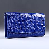 Сумки и аксессуары handmade. Livemaster - original item Wallet female crocodile IMA0004C4. Handmade.