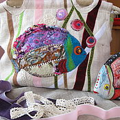 Сумка через плечо ручной работы. Ярмарка Мастеров - ручная работа Сумка через плечо: Морская красавица. Handmade.