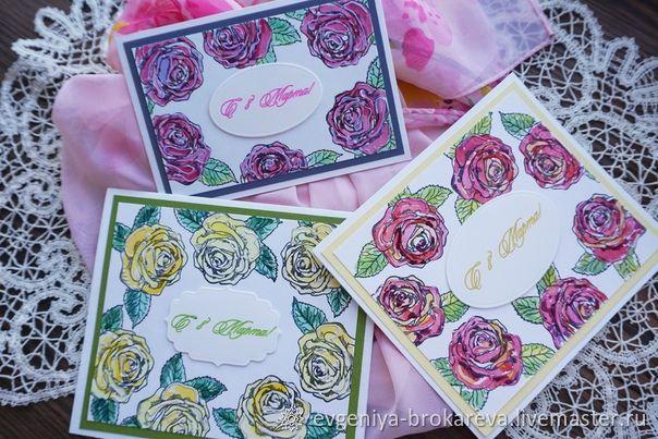 Розы, Открытки, Мурманск,  Фото №1