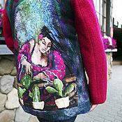 Одежда ручной работы. Ярмарка Мастеров - ручная работа Жакет Сеньорита войлок. Handmade.