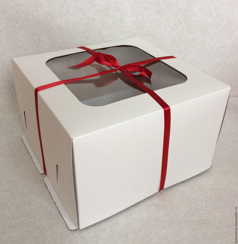 Коробки для тортов своими руками фото 440