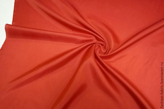 Шитье ручной работы. Ярмарка Мастеров - ручная работа. Купить Подкладочная вискоза красная 24021604 PRT Италия Цена за метр. Handmade.
