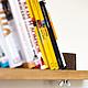 Мебель ручной работы. Полка для CD-DVD-мелких книг. INTERIOR ELEMENTS. Ярмарка Мастеров. Книжная полочка, букстопер