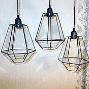 Для дома и интерьера handmade. Livemaster - original item Hanging lamps loft Anthea V2. Handmade.