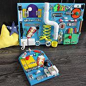 Куклы и игрушки ручной работы. Ярмарка Мастеров - ручная работа Набор бизибордов. Handmade.