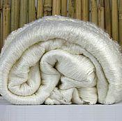 Материалы для творчества handmade. Livemaster - original item P3624.  Silk Leps (blanket) Mulberry. color: Natural White. 20 gr.. Handmade.
