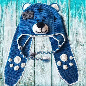 Одежда ручной работы. Ярмарка Мастеров - ручная работа Комплект «Тедди» шапка+шарф. Handmade.