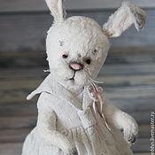 Куклы и игрушки ручной работы. Ярмарка Мастеров - ручная работа зайка Эльза. Handmade.