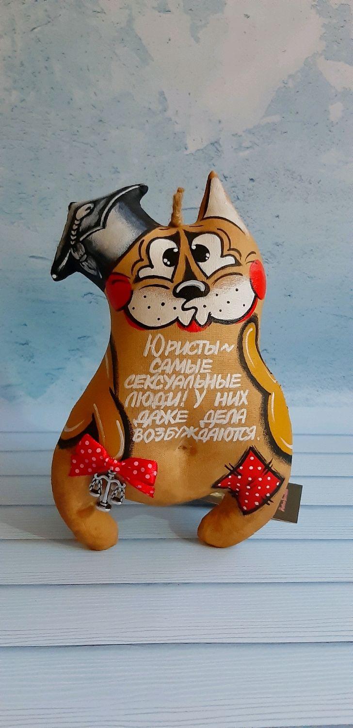 Котик Юрист 2(19,5 см), Куклы и пупсы, Новороссийск,  Фото №1