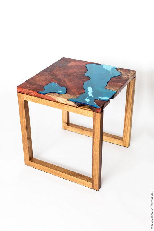 Мебель ручной работы. Ярмарка Мастеров - ручная работа. Купить Кофейный столик Колорадо. Handmade. Река, мебель из массива