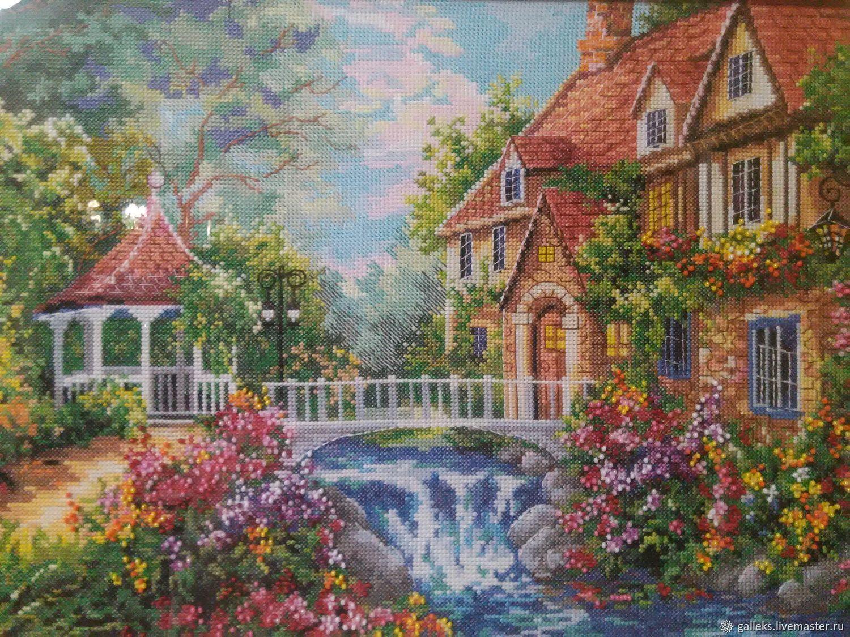 Домик в деревне, Картины, Набережные Челны,  Фото №1