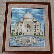 Картины и панно ручной работы. Ярмарка Мастеров - ручная работа Тадж-Махал. Handmade.
