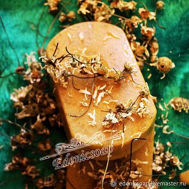"""Косметика ручной работы. Ярмарка Мастеров - ручная работа """"Ромашковое поле"""" мыло на отваре ромашки косметика. Handmade."""