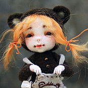 Куклы и игрушки ручной работы. Ярмарка Мастеров - ручная работа Дюймовочка. Handmade.