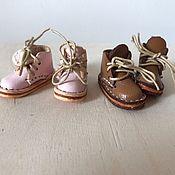 Куклы и игрушки ручной работы. Ярмарка Мастеров - ручная работа Ботиночки для Blythe. Handmade.
