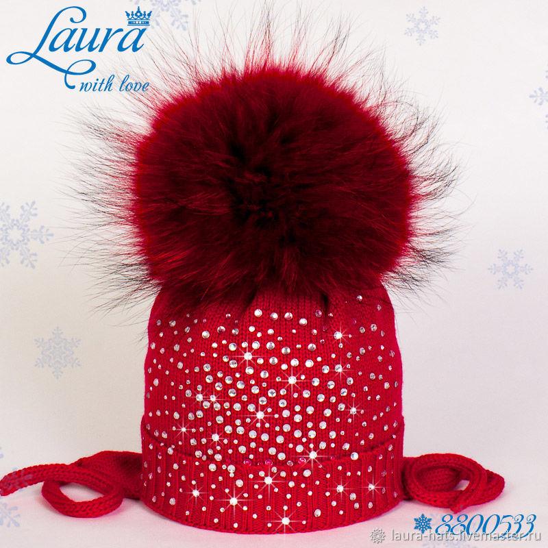 Шапки и шарфы ручной работы. Ярмарка Мастеров - ручная работа. Купить  Зимняя шапка для ... f79c6a3e21534