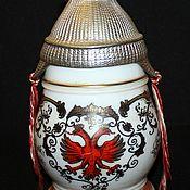 Винтаж handmade. Livemaster - original item Beer mug with original lid