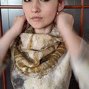 """Одежда ручной работы. Ярмарка Мастеров - ручная работа Платье валяное """"Гармония"""". Handmade."""