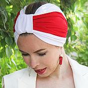 Аксессуары handmade. Livemaster - original item Bandage - turban summer. Handmade.
